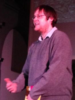 Dr. Steffen Jöris beim Zeitfenster-Gottesdienst